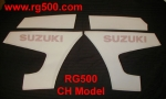 "Suzuki RG500 ""CH"" Model Decal Kit"